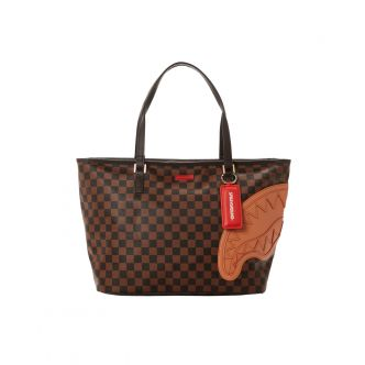 BROWN HENNY TOTE